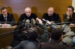 Gilles Simeoni, Antoine Sollacaro, Pascal Garbarini, et Patrick Maisonneuv le 12 mars 2009 à Paris.jpg